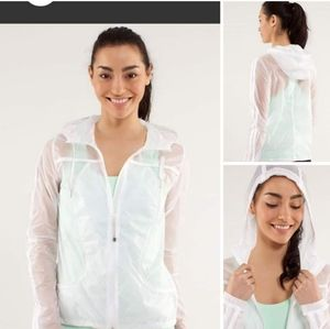 Transparent-See Jacket BNWOT